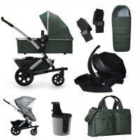 JOOLZ Geo 2 Kinderwagen, Marvellous Green - 3KH Special Set Premium (inkl. Versicherung)
