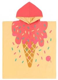 Zoocchini Frotte-Poncho - Ice Cream