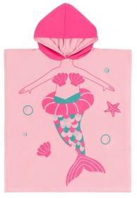 Zoocchini Frotte-Poncho - Meerjungfrau