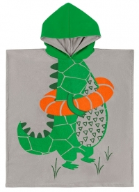 Zoocchini Frotte-Poncho - Aiden das Krokodil