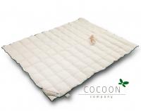 Cocoon Junior Bettdecke aus Kapok, 140 x 200 cm