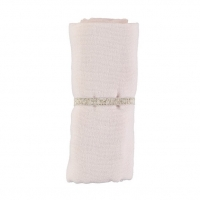 Nobodinoz Baby Love Swaddle, 70x70 - Dream Pink
