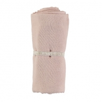 Nobodinoz Baby Love Swaddle, 70x70 - Bloom Pink