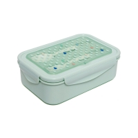 Petit Monkey Bento Lunch Box, mint