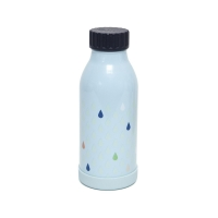 Petit Monkey Thermosflasche, 350 ml - blau
