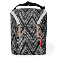 Skip Hop Double Bottle Bag, Zig Zag Zebra