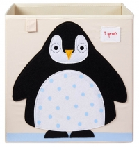 3 Sprouts Aufbewahrungsbox, Pinguin