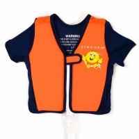 Strooem Schwimmweste für Kinder von 2-4 Jahre alt, navy/ orange