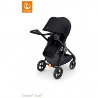 Stokke Beat Kinderwagen, Black 2019