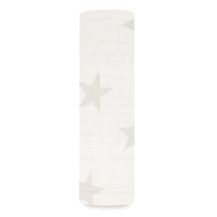 Aden Anais Silky Soft Mulltuch Swaddle, Milky Way