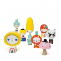 Petit Monkey Holzfiguren Mr Sun & Friends