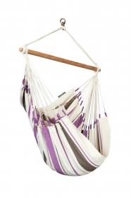 La Siesta Caribeña Purple - Hängestuhl Basic aus Baumwolle