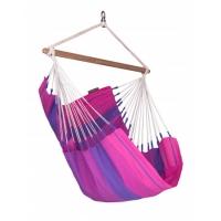 La Siesta Orquídea Purple - Hängestuhl Basic aus Baumwolle