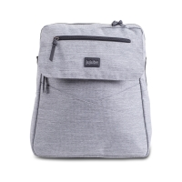 JuJuBe 4-in-1 Core Convertible Wickeltasche, Glacier Grey