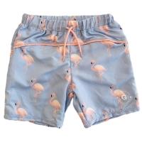 Geggamoja Badehose mit UV-Schutz, Flamingo