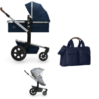 JOOLZ Day 3 Kinderwagen, Classic Blue 2019 - 3KH Special Set Light