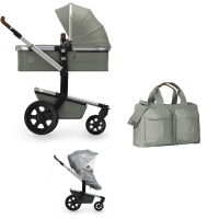 JOOLZ Day 3 Kinderwagen, Daring Grey 2019 - 3KH Special Set Light