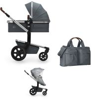 JOOLZ Day 3 Kinderwagen, Gorgeous Grey 2019 - 3KH Special Set Light