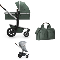 JOOLZ Day 3 Kinderwagen, Marvellous Green 2019 - 3KH Special Set Light
