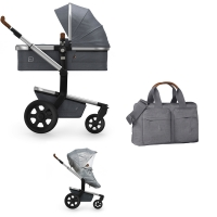 JOOLZ Day 3 Kinderwagen, Radiant Grey 2019 - 3KH Special Set Light