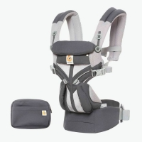 Ergobaby Omni 360-Babytrage, Cool Air Mesh - Carbon Grey