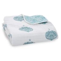 Aden Anais Kuscheldecke Dream Blanket - Paisley Teal