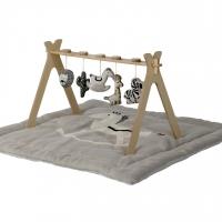 Quax Spielbogen mit 5 Strick-Tieren