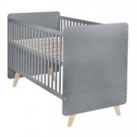 Quax Baby- & Kinderbett LOFT, grau