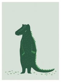 Trixie Poster, Mr. Crocodile