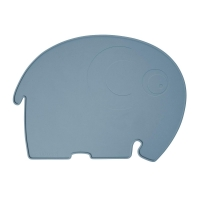 Sebra Silikon Platzdeckchen, Fanto der Elefant, royal blue