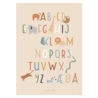 Sebra Poster, Alphabet