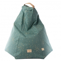 Nobodinoz Sitzsack Marrakech, Gold Confetti/ Magic Green
