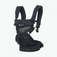 Ergobaby Babytrage 360° 4-Positionen, Cool Air Mesh Black Onyx
