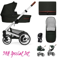 Mutsy Nio Kinderwagen, Explore Amazone - 3KH Special Set
