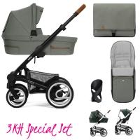 Mutsy Nio Kinderwagen, Inspire Eucalyptus - 3KH Special Set