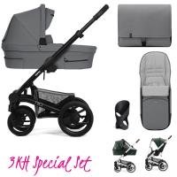 Mutsy Nio Kinderwagen, Inspire Light Shade - 3KH Special Set