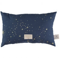 Nobodinoz Laurel Kissen, Gold Stella/ Night Blue