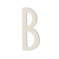 Sebra Deko-Buchstabe B, Birchbark Beige