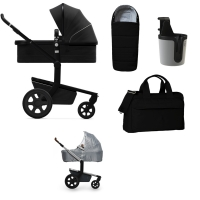 JOOLZ Day 3 Kinderwagen, Brilliant Black 2019 - 3KH Special Set Plus