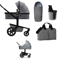JOOLZ Day 3 Kinderwagen, Superior Grey 2019 - 3KH Special Set Plus