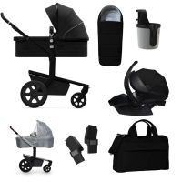 JOOLZ Day 3 Kinderwagen, Brilliant Black 2019 - 3KH Special Set Premium