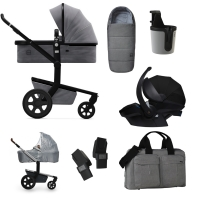 JOOLZ Day 3 Kinderwagen, Superior Grey 2019 - 3KH Special Set Premium