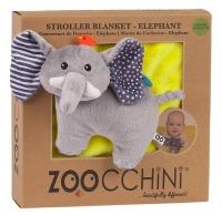 Zoocchini Decke, Elefant