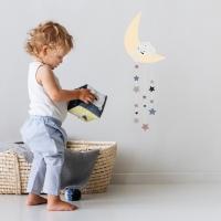 MIMIlou Wandsticker Just a Touch, Moon