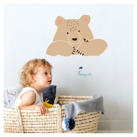 MIMIlou Wandsticker, Ours in Love
