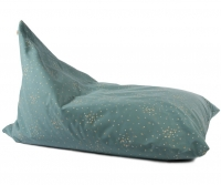 Nobodinoz Sitzsack Essaouira, Gold Confetti/ Magic Green