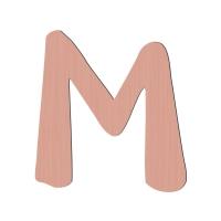 Sebra Deko-Buchstabe M, Wassermelone Pink