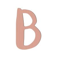 Sebra Deko-Buchstabe B, Wassermelone Pink