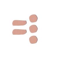 Sebra Deko-Buchstabe Zeichen, Wassermelone Pink