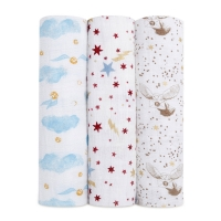 Aden + Anais Swaddles 3er-Pack, Harry Potter *limited edition*